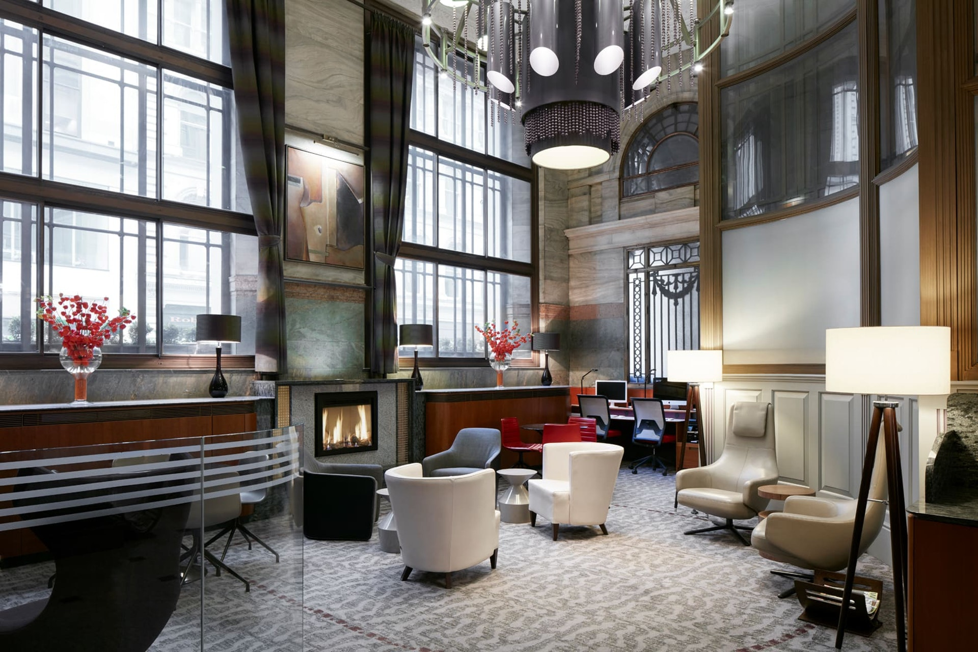 Club Living Room at CQ Hotel, Gracechurch, London