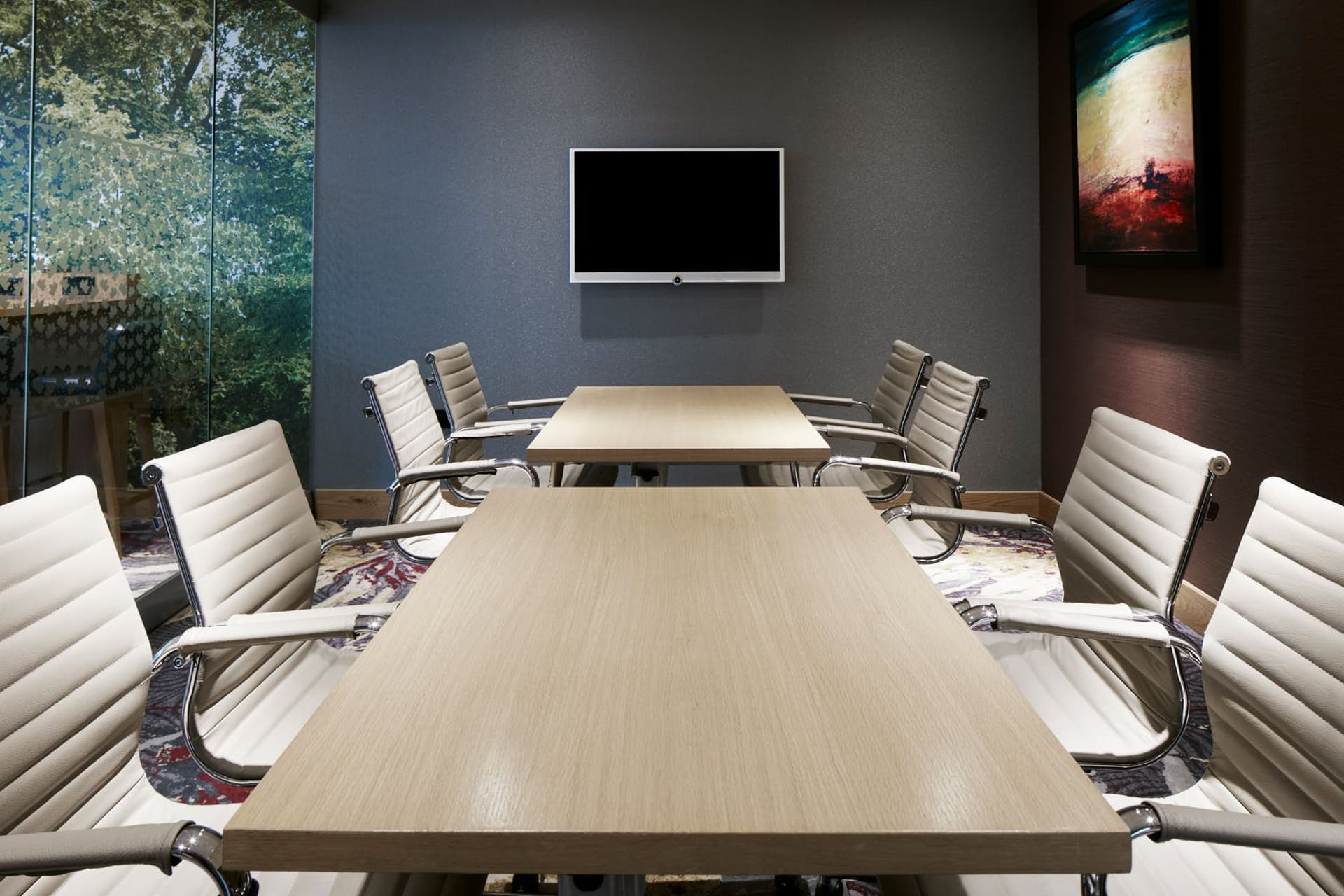 Meeting room in CQ Hotel, Lincoln's Inn Fields, London