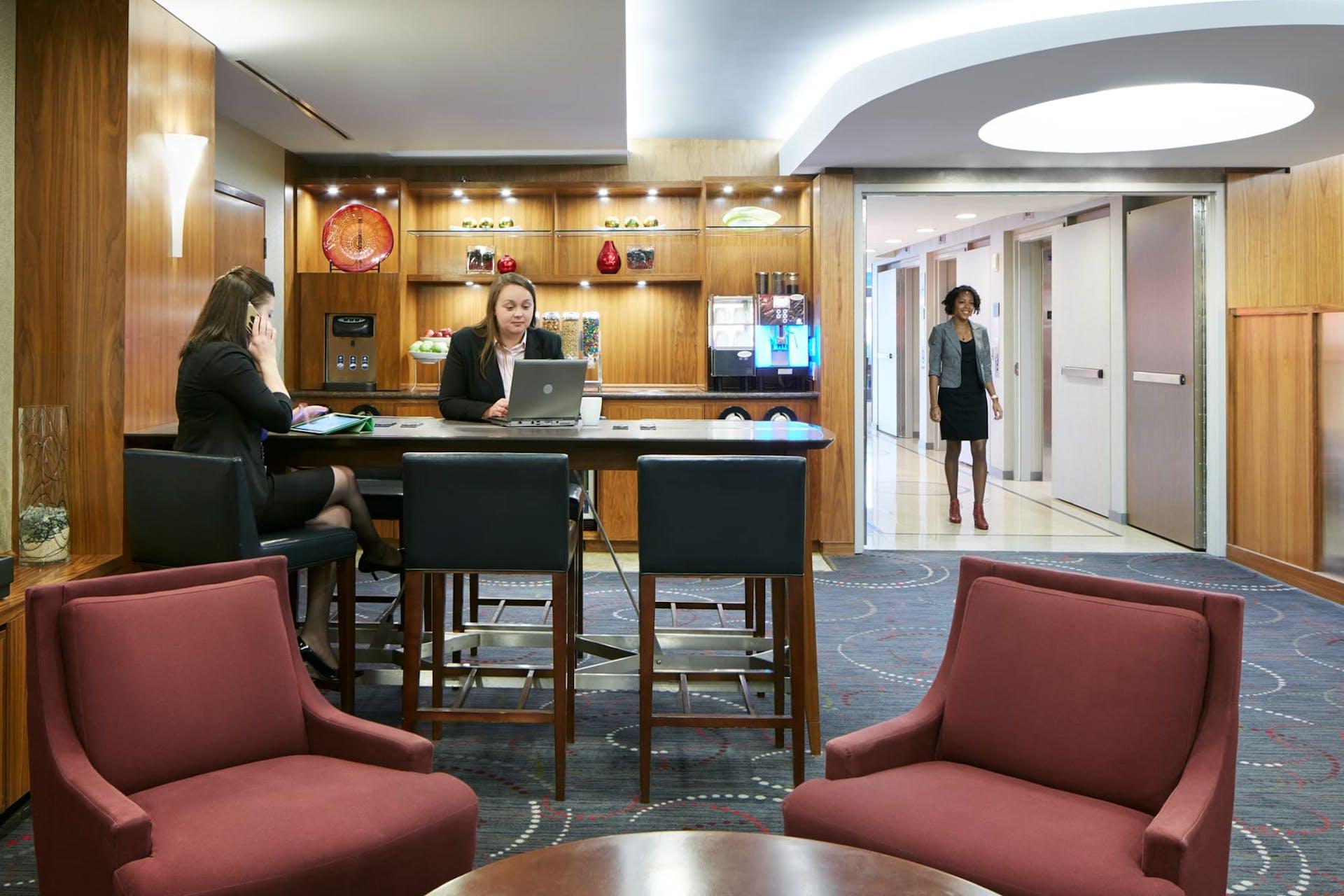 Club Living Room at CQ Hotel, San Francisco