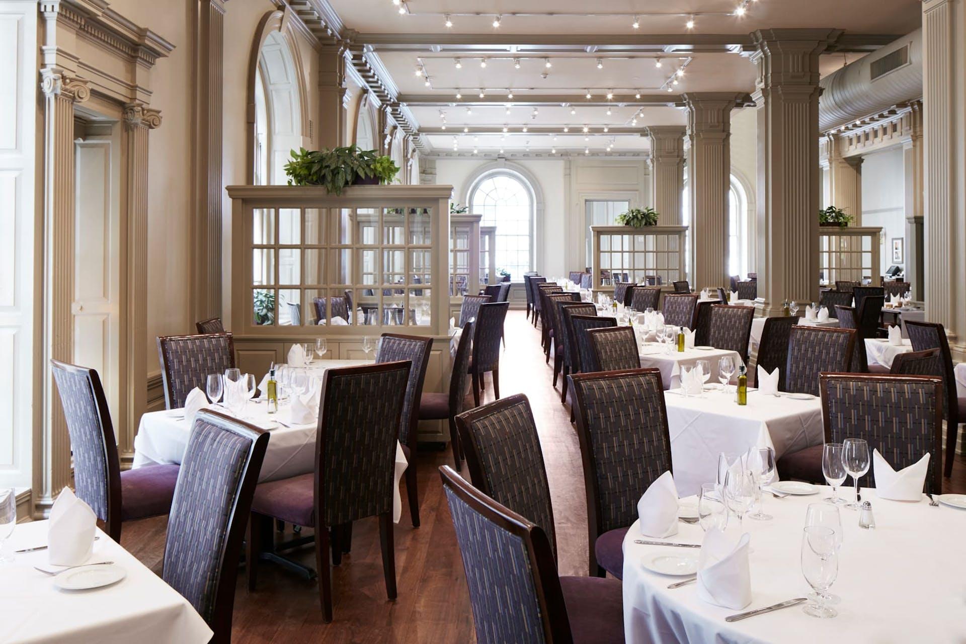 Interior of Davios restaurant, Philadelphia