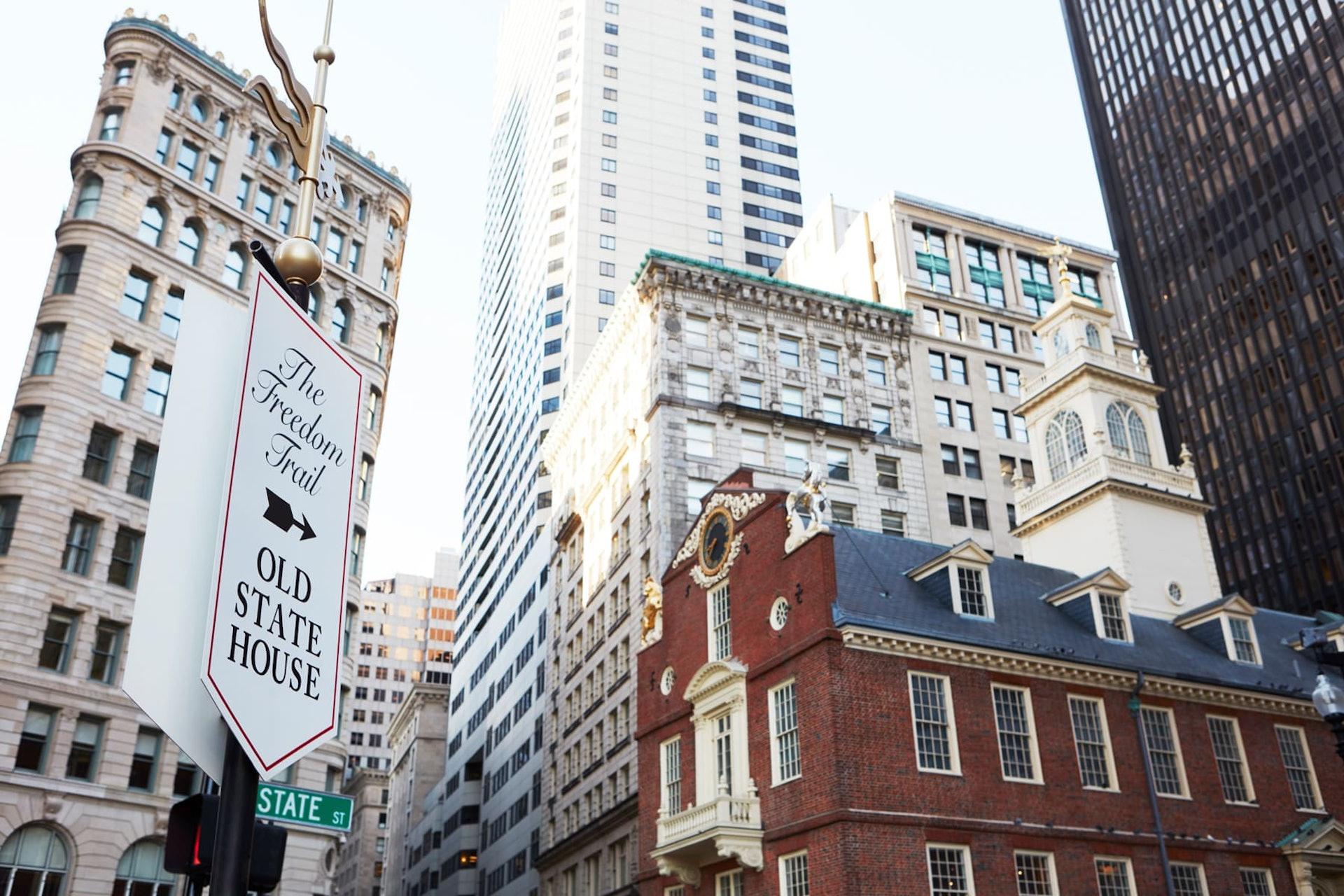 Skyscraper in Boston