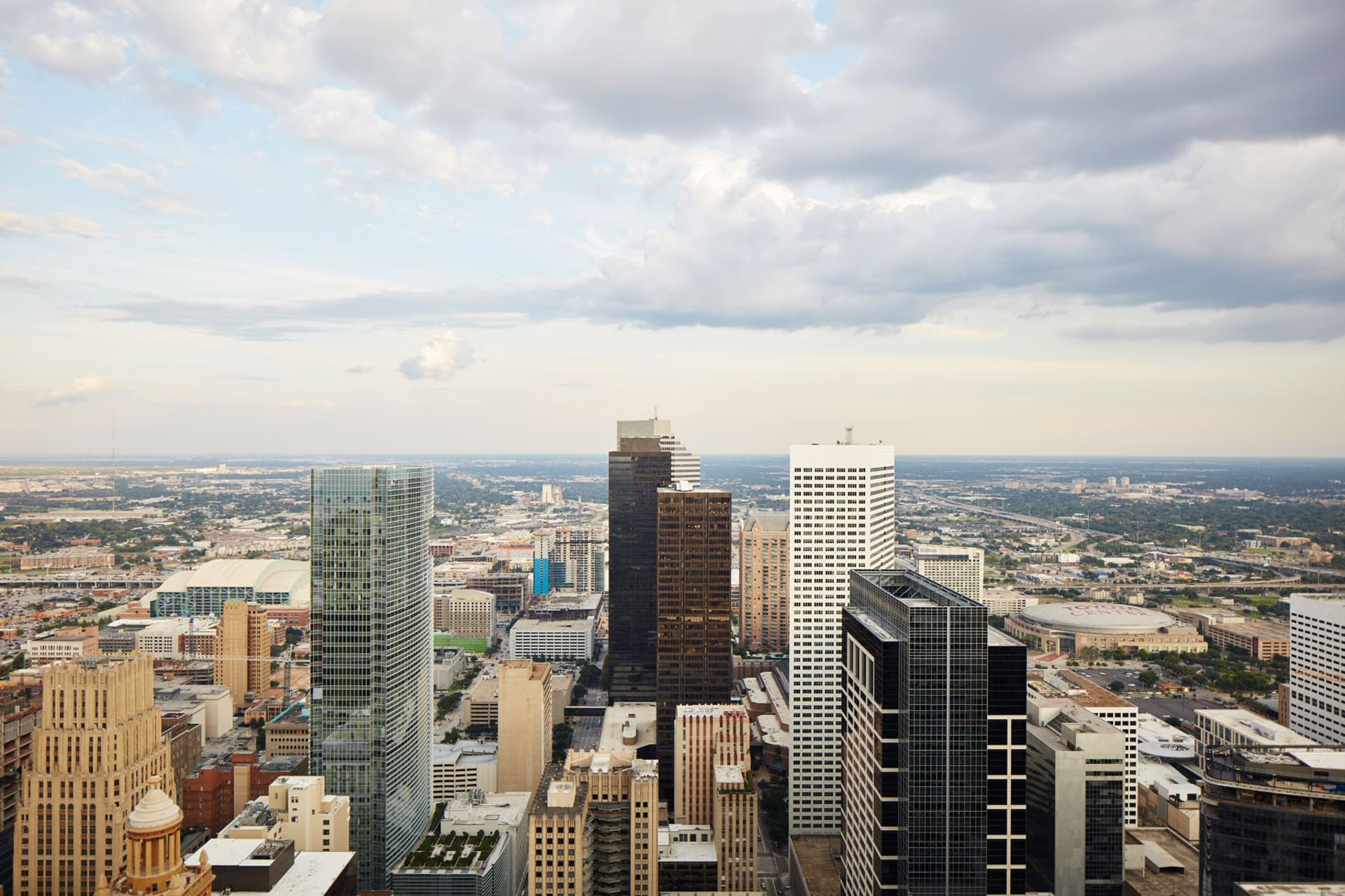 Skyline view of Houston, Texas