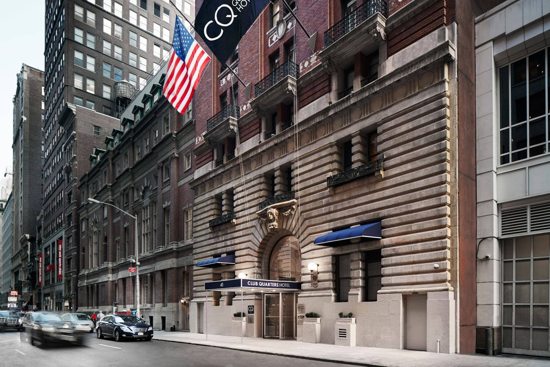 Exterior of CQ Hotel, Midtown Times Square, NYC