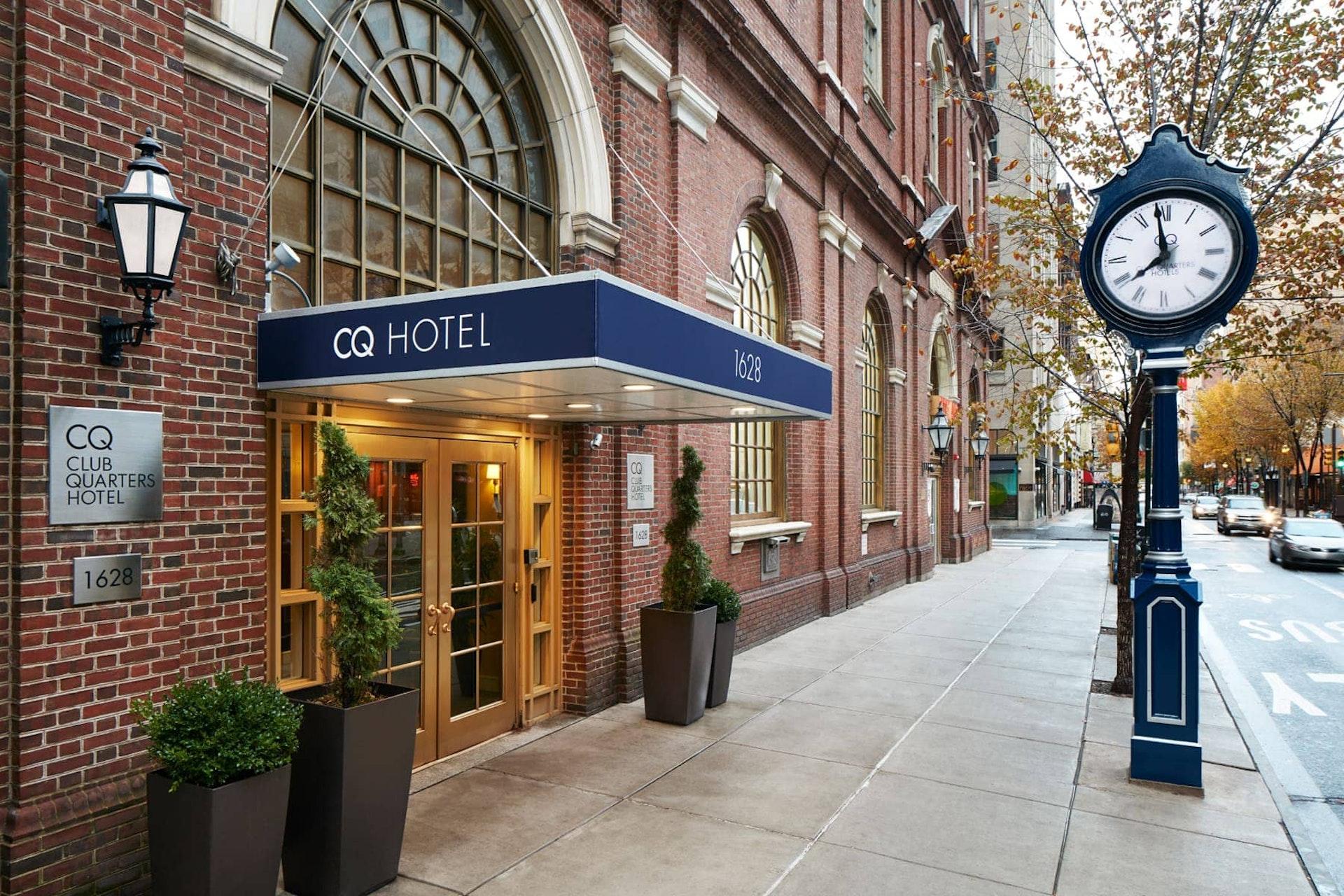 Exterior of CQ Hotel, Rittenhouse Square, Philadelphia