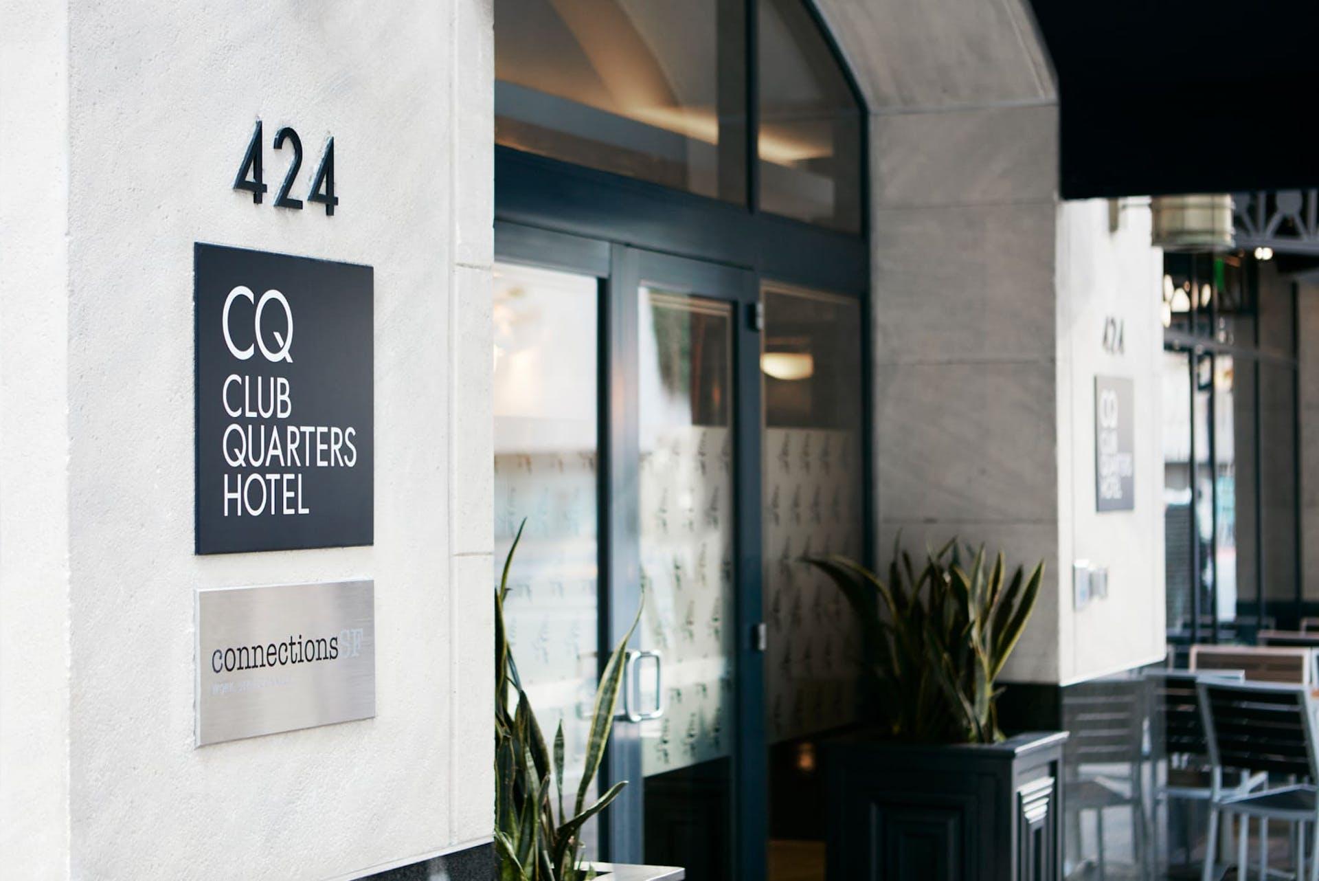 Exterior of CQ Hotel, San Francisco