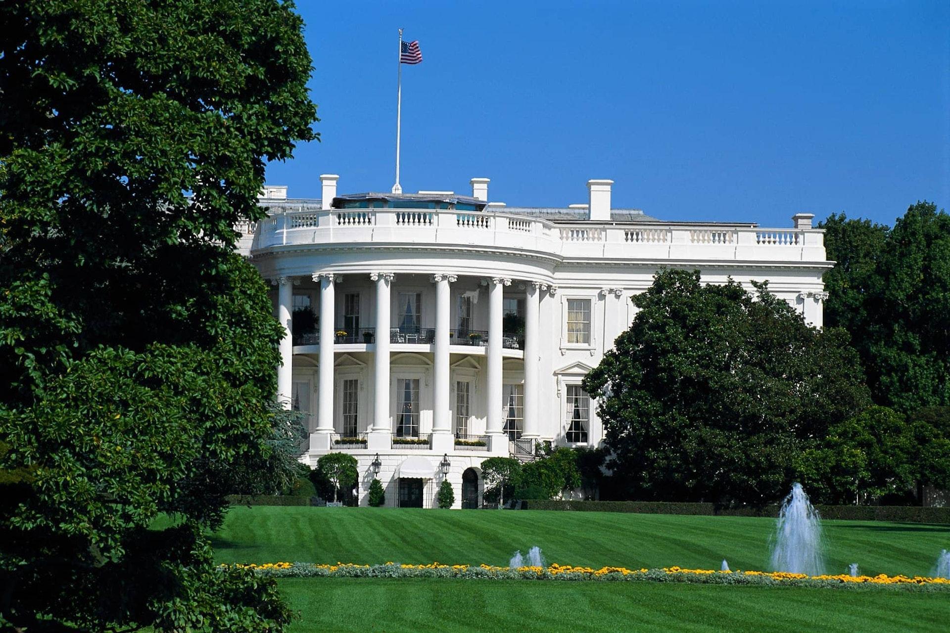 Exterior of The White House, Washington DC