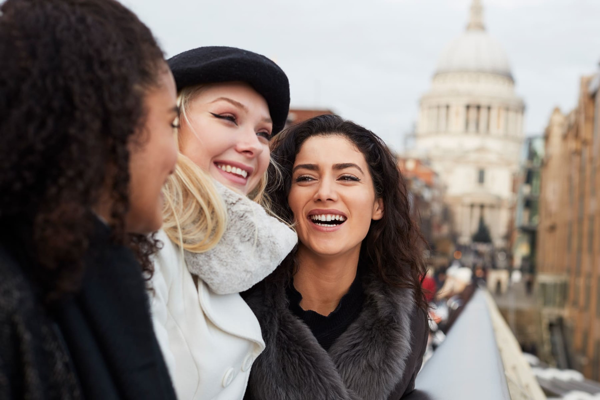 Group of women in London