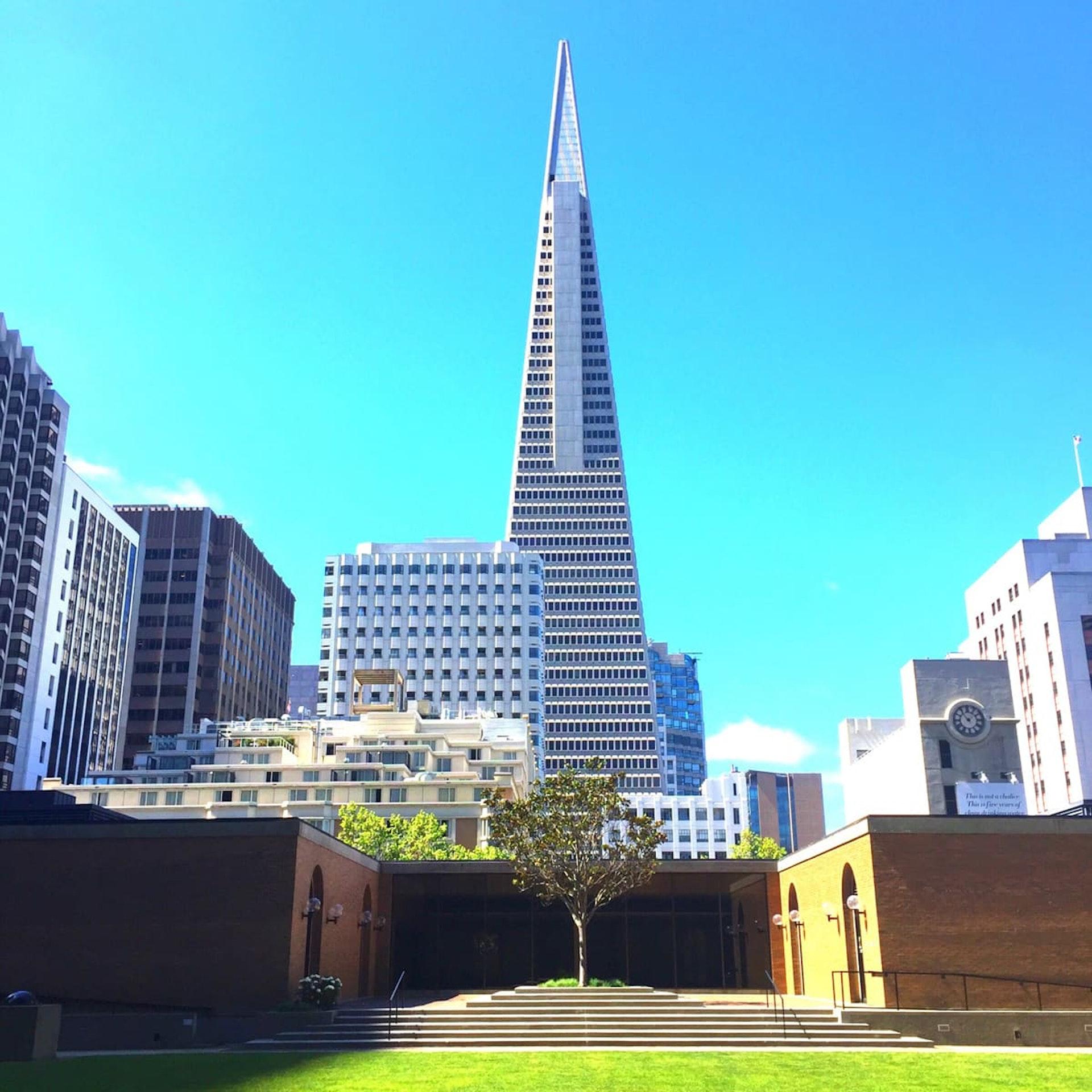 Park in financial district, San Francisco