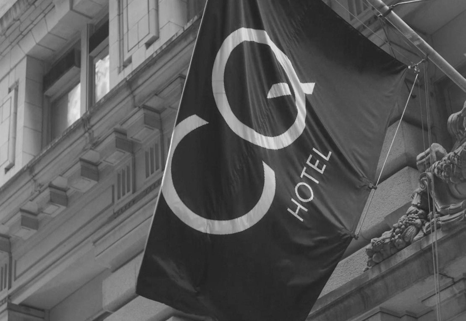 CQ Hotels flag outside a CQ property